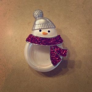 Bath & Body Works Snowman Scentportable Visor Clip